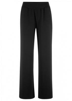 Spodnie jazzówki Punto di Roma FLARED, z gumką w talii bonprix czarny