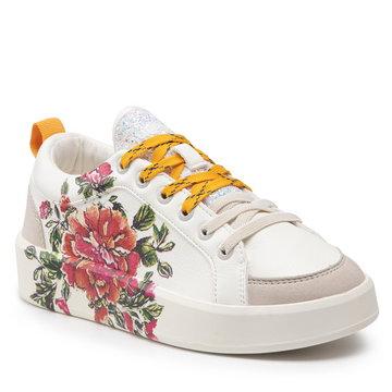 Sneakersy DESIGUAL - Shoes Fancy Flower 21WSKP17 1000