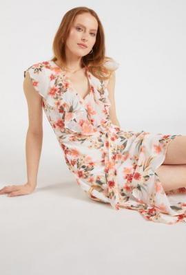 Sukienka z asymetrycznymi bokami