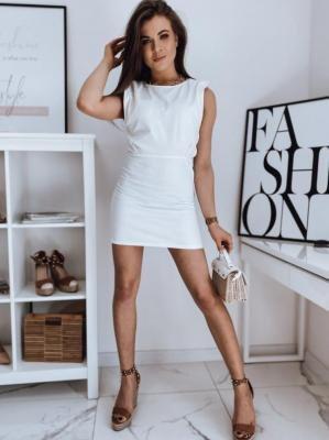 Sukienka jeansowa JESSI II biała Dstreet EY1673