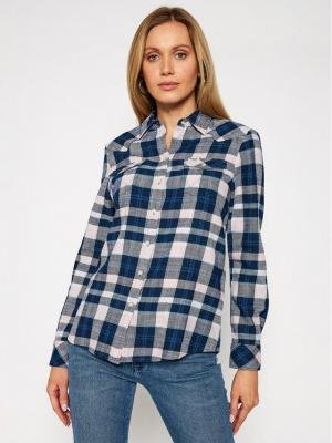 Wrangler Koszula Western Check W5N13TXTU Kolorowy Slim Fit
