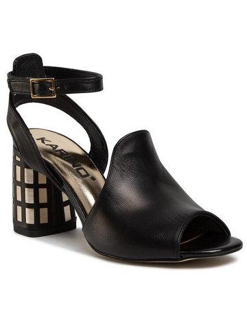 Sandały 3247/076-P Czarny
