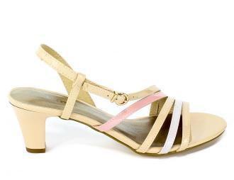 Sandały Tamaris 1-28023-32 233 Nude Pat.Comb
