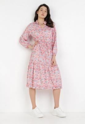 Różowa Sukienka Haithei