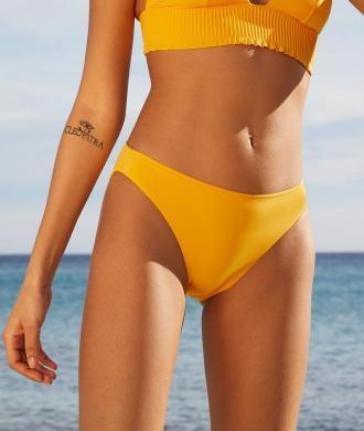Alma Klasyczny Dół Bikini - 38 - Cytrynowy - Etam
