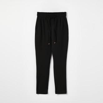 Mohito - Spodnie z wiązaniem - Czarny