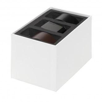 Zestaw upominkowy CALVIN KLEIN - Beveled Plaque 01H K50K507525 Black/Brown 01H