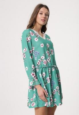 Zielona Sukienka Sleepy Petal