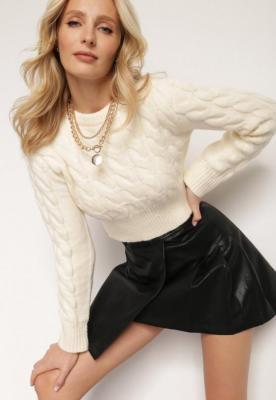 Kremowy Sweter Actonice