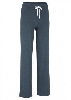 Spodnie z dżerseju z szerokimi nogawkami, długie, Level 1 | bonprix