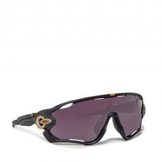 Okulary przeciwsłoneczne OAKLEY - Jawbreaker 0OO9290-6331 Black Grey Fade/Prizm Road Black