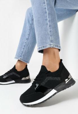 Czarne Sneakersy Ryrana
