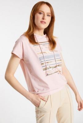 Bluza z krótkimi rękawami z wzorem