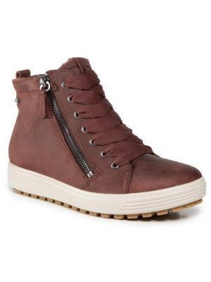 ECCO Sneakersy Soft 7 Tred W GORE-TEX 45016302474 Brązowy