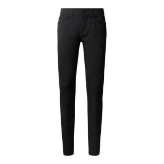 Spodnie o kroju slim fit z elastycznego materiału