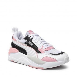 Sneakersy PUMA - X-Ray 2 Square 373108 30 White/Black/Peony/Grayviolet