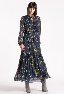 Sukienka w drobny wzór