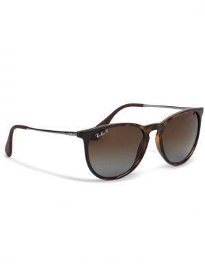 Ray-Ban Okulary przeciwsłoneczne Erika 0RB4171 710/T5 Brązowy