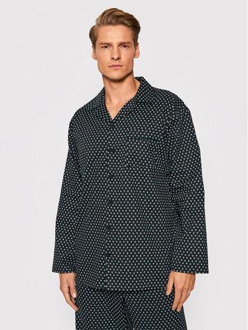 Koszulka piżamowa William 6625 Czarny