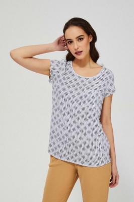Bluzka koszulowa z wiskozy
