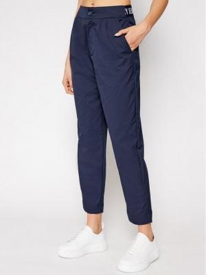 Tommy Jeans Spodnie materiałowe Tjw Shrs Pleated DW0DW09736 Granatowy Tapered Fit