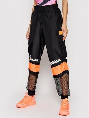 LaBellaMafia Spodnie dresowe 20703 Czarny Relaxed Fit