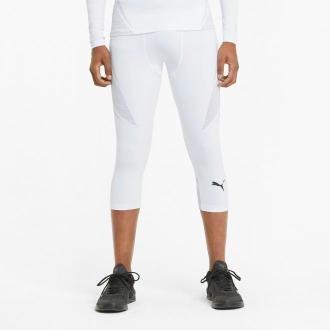 PUMA Męskie Legginsy Treningowe 3/4 EXO-ADAPT, Biały, rozmiar XS, Odzież