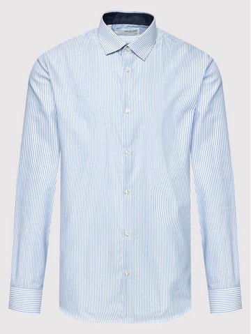 Koszula New Mark 16058640 Biały Slim Fit