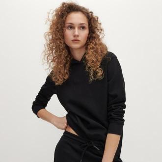 Reserved - Bluza z bawełny organicznej - Czarny