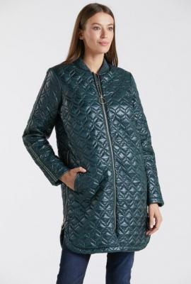 Pikowany przejściowy płaszcz