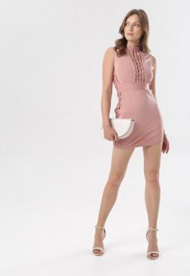Różowa Sukienka Kairina