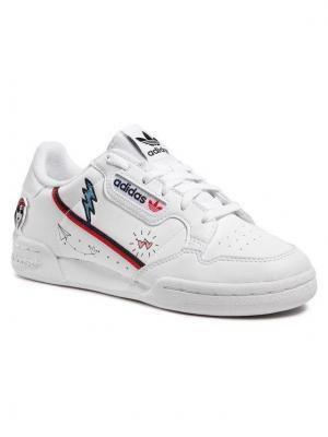 adidas Buty Continental 80 J FX6067 Biały