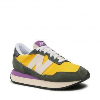Sneakersy NEW BALANCE - WS237SB Zielony Żółty