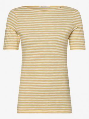 Marc O'Polo - T-shirt damski, żółty