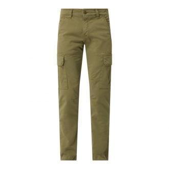 Spodnie cargo o kroju regular fit z bawełny