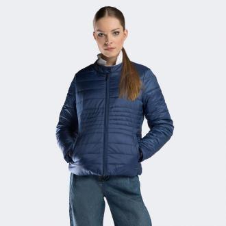 Damska kurtka pikowana ze stójką