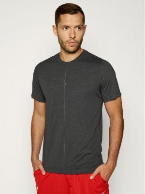 Nike Koszulka techniczna Yoga Dri-Fit CT6476 Szary Regular Fit