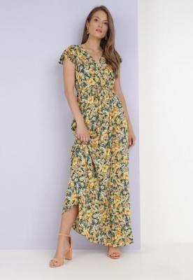 Żółta Sukienka Metinise