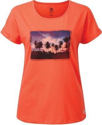 Dare 2b Improve Koszulka Kobiety, pomarańczowy UK 10   EU 36 2021 Odzież do jogi