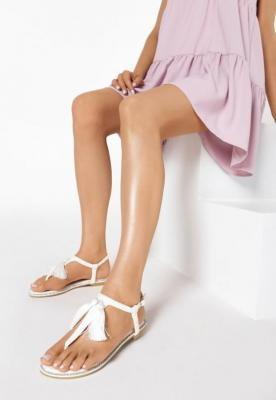 Białe Sandały My Romance