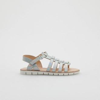 Reserved - Sandały z paskami - Srebrny