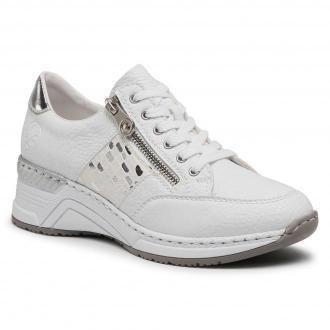 Sneakersy RIEKER - N4322-80  White