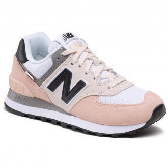 Sneakersy NEW BALANCE - WL574SK2  Beżowy Kolorowy