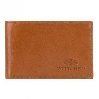Męski portfel ze skóry minimalistyczny