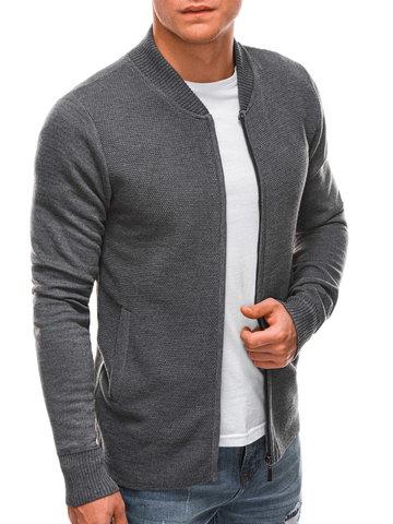 Sweter męski 197E - szary - S