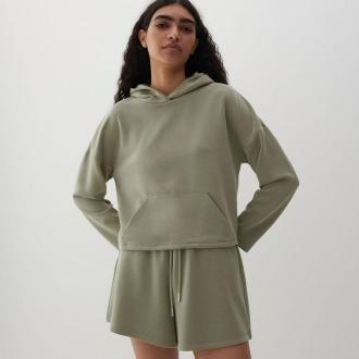Reserved - Bluza z kapturem - Khaki