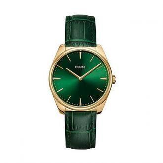 Zegarek CLUSE - Feroce CW0101212006 Gold/Green