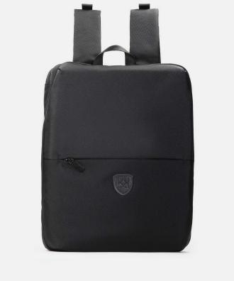 Czarny plecak męski 2w1
