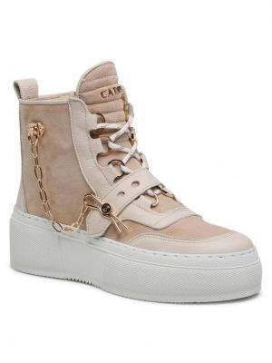 Carinii Sneakersy B7051 Beżowy