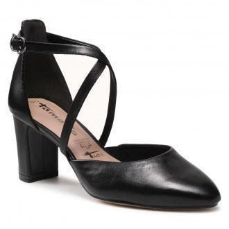 Półbuty TAMARIS - 1-24410-26 Black Leather 003